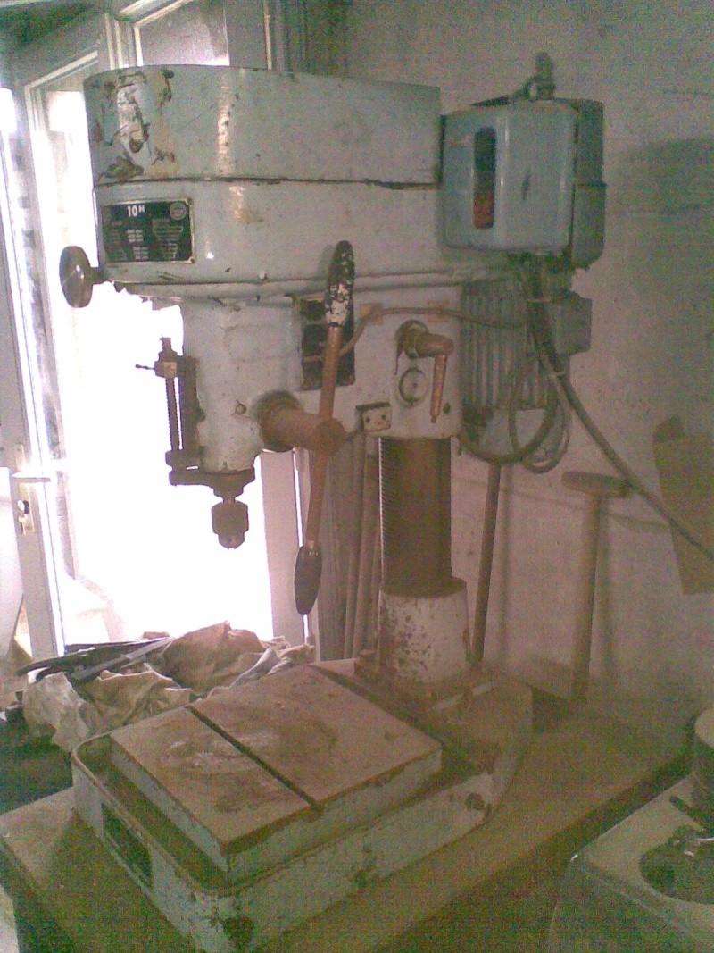 Rénovation perceuse Sydéric 10H 25092011
