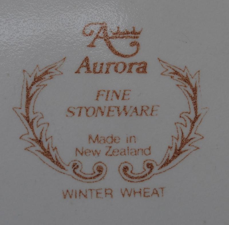 Aurora Fine Stoneware - Winter Wheat 02011