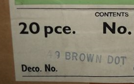 Brown Dot D349 Brown_10
