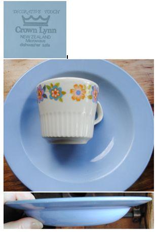 Decorative Touch - Lilac - blue coloured soup dish Lilac_10