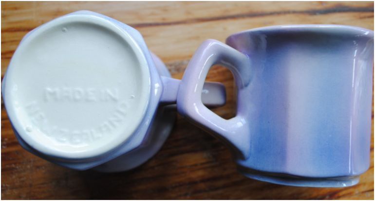 Cups - stamped Made In New Zealand - These must be Clay Craft Lilac_11
