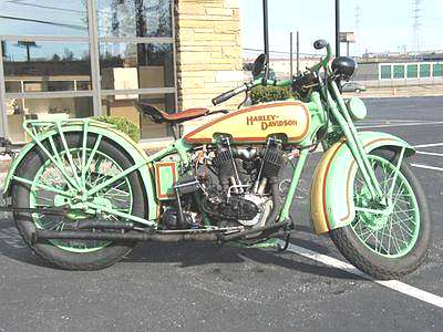 Les vieilles Harley....(ante 84) par Forum Passion-Harley - Page 20 1929ha10
