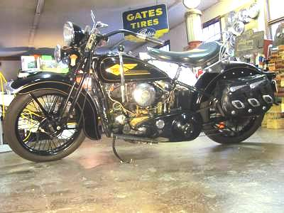 Les vieilles Harley....(ante 84) par Forum Passion-Harley - Page 20 1934_h10