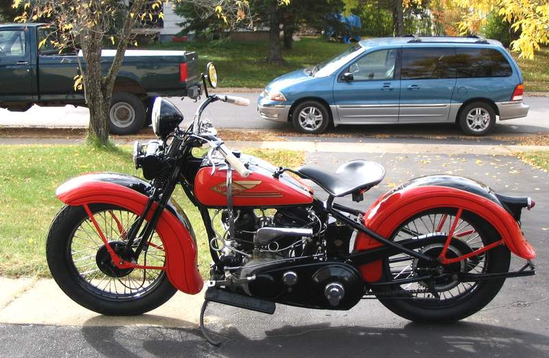 Les vieilles Harley....(ante 84) par Forum Passion-Harley - Page 20 1934ha10