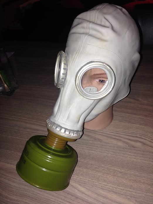 Collection masque anti gaz maj Gp510