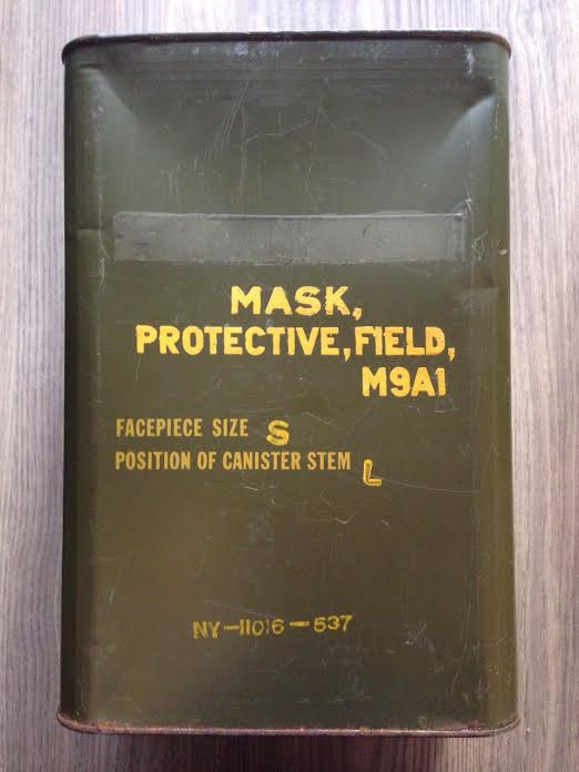 Collection masque anti gaz maj M9a110