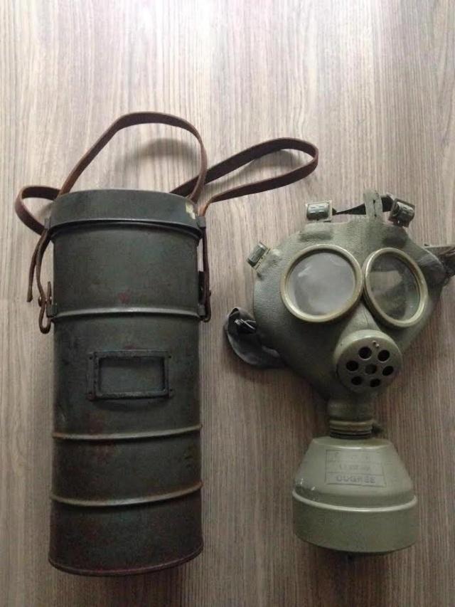 Collection masque anti gaz maj Sba10