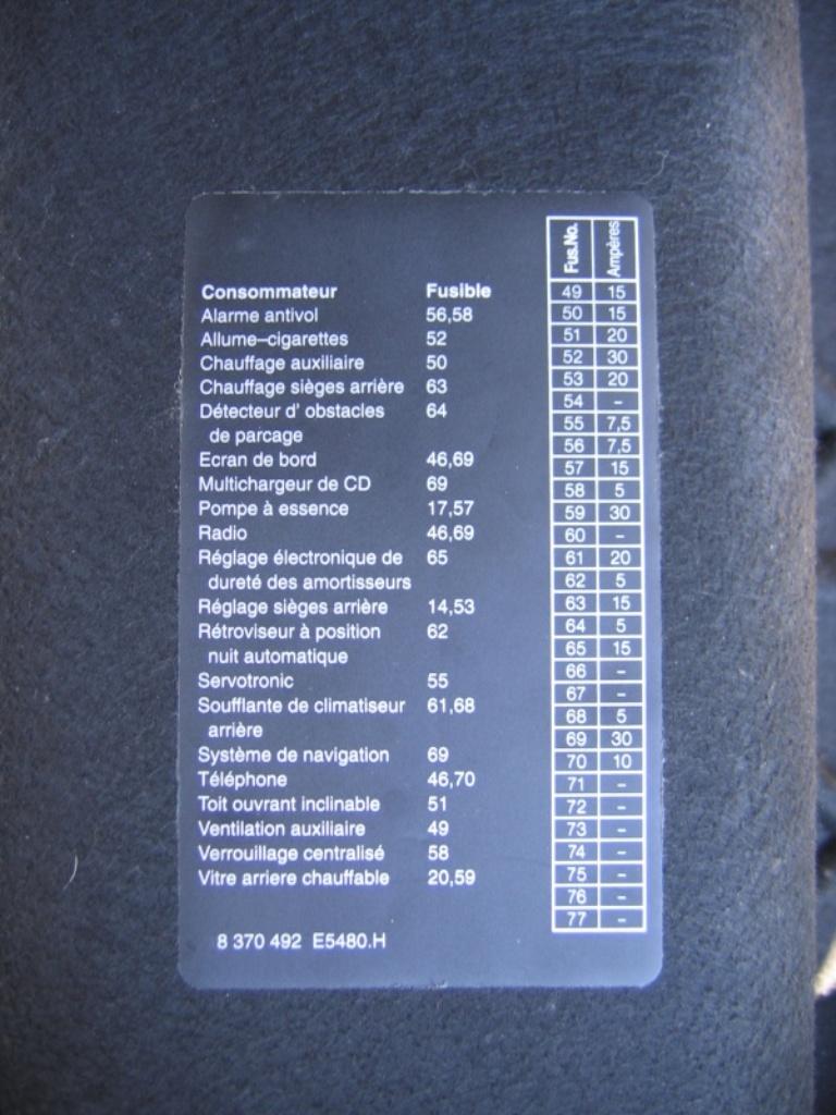 siege chauffant qui bug 2000110