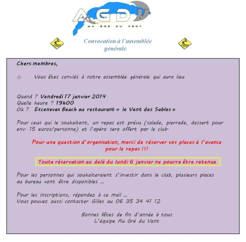 Assemblée générale AGDV Convoc10