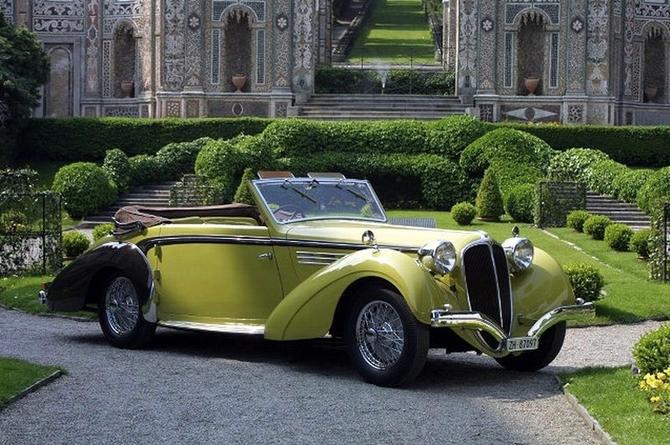 """Delahaye 135 cabriolet """"coupe des Alpes"""" Heller 1/24 08fead10"""