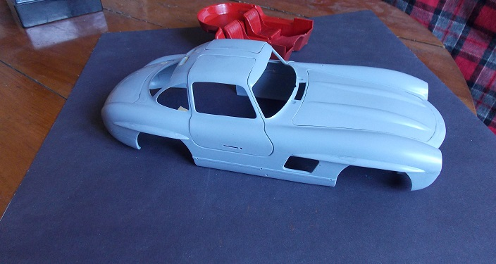 "Mercedes 300 SL coupé ""gullwing"" (Italeri 1/16) 300__p14"