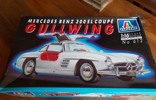 "Mercedes 300 SL coupé ""gullwing"" (Italeri 1/16) M_300_10"