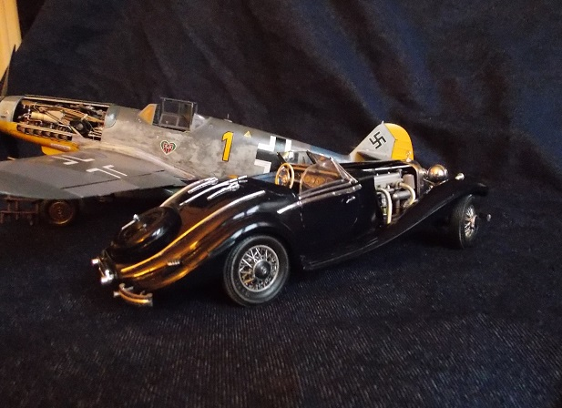 [Quentin] [Mercedes 500 K Special Roadster] [échelle 1/24] - Page 2 Merced15