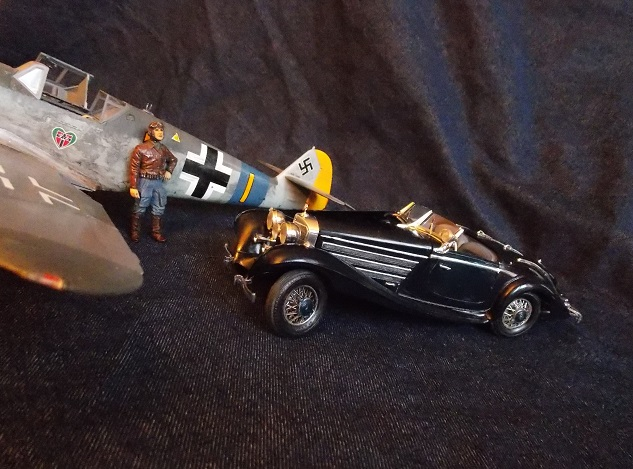 [Quentin] [Mercedes 500 K Special Roadster] [échelle 1/24] - Page 2 Merced16