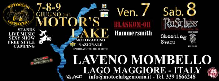 Motor's Lake 20/21/22-06-2014 Laveno Mombello -VA- Motor_10