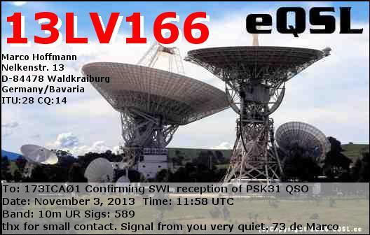 AMATEUR CW , RTTY , PSK31 , SIM31 , OLIVIA 173ica14