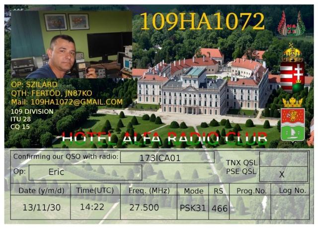 AMATEUR CW , RTTY , PSK31 , SIM31 , OLIVIA 173ica23