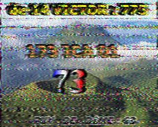AMATEUR SSTV  Hist2412