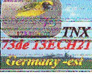 AMATEUR SSTV  Hist2419