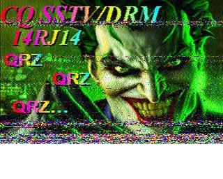 AMATEUR SSTV  Hist2515