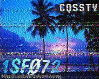 AMATEUR SSTV  Hist2710