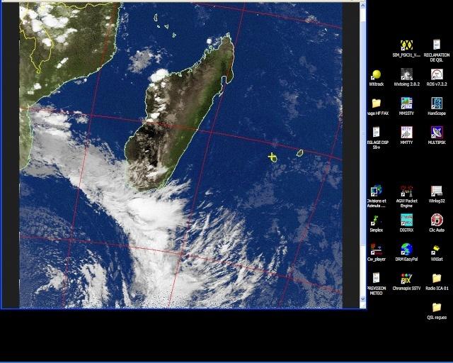 RECEPTION SATELLITES METEOSAT ET NOAA  Noaa_112