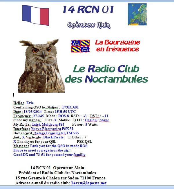 AMATEUR ROS 2 / 4 / 7 / 8 / 16 Qsl_de11