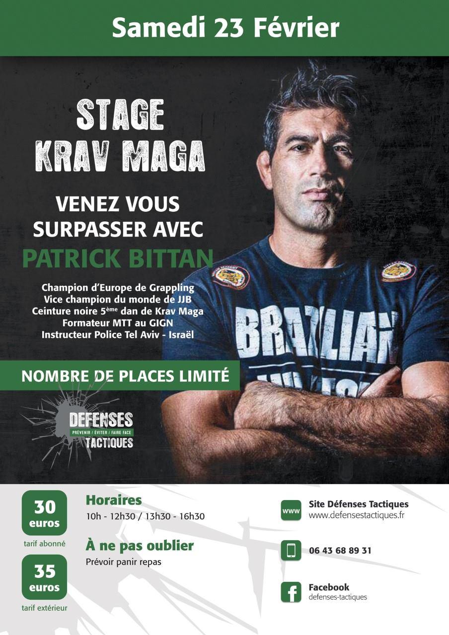 stage krav maga à Rennes avec Patrick Bittan  48257110