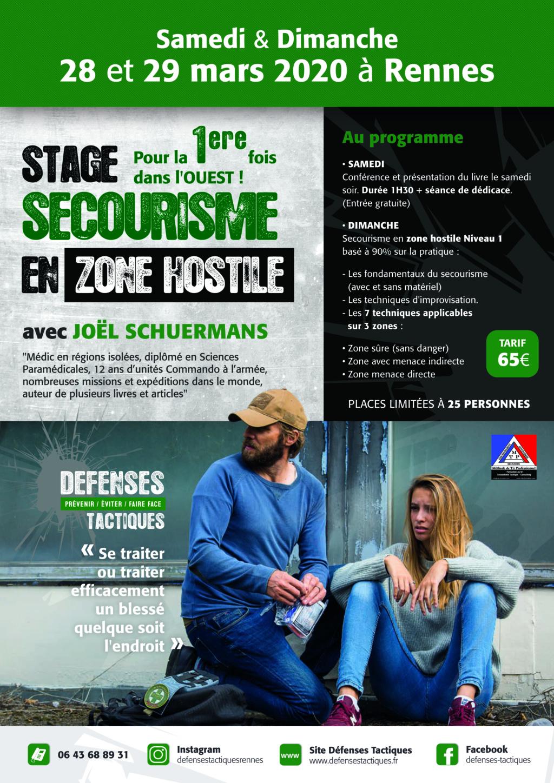 Stage secourisme en zone hostile à Rennes Getatt13