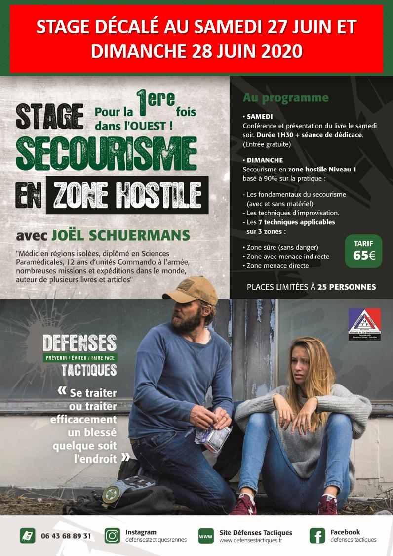 Stage secourisme en zone hostile à Rennes Getatt15