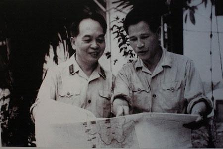 """Nghệ thuật """"nắm thắt lưng địch mà đánh"""" của Đại tướng Nguyễn Chí Thanh 18120110"""