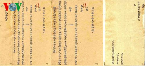 Chủ quyền Hoàng Sa, Trường Sa từ cứ liệu lịch sử 28022010
