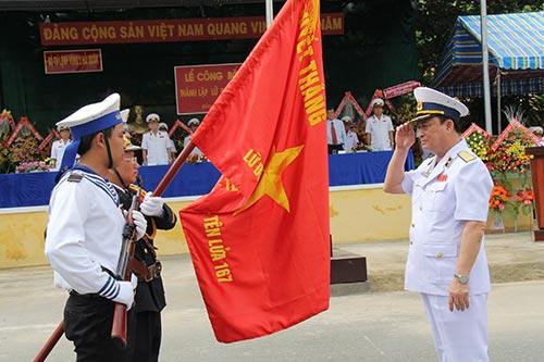 Thành lập Lữ đoàn Tàu pháo-Tên lửa 167 Vùng 2 Hải quân 2tulen10