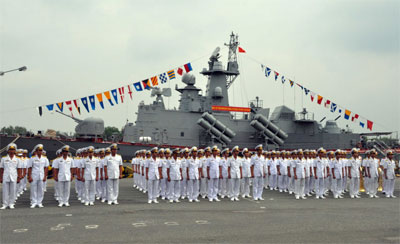 Thành lập Lữ đoàn Tàu pháo-Tên lửa 167 Vùng 2 Hải quân 32313410