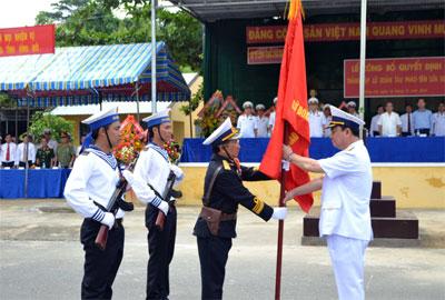 Thành lập Lữ đoàn Tàu pháo-Tên lửa 167 Vùng 2 Hải quân 61181610