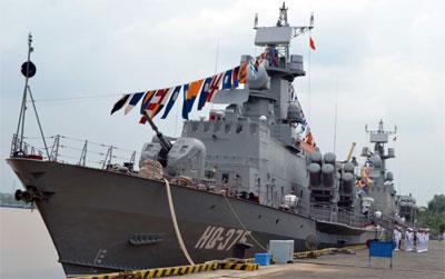Thành lập Lữ đoàn Tàu pháo-Tên lửa 167 Vùng 2 Hải quân 64986110
