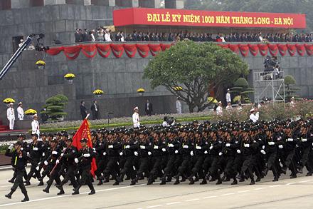 Quân đội nhân dân vững bước dưới cờ của Đảng, bảo vệ vững chắc Tổ quốc Việt Nam xã hội chủ nghĩa Thanh010