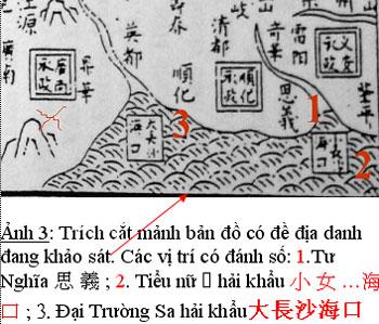 Những tấm bản đồ chứng minh Hoàng Sa, Trường Sa thuộc về Việt Nam Truong14