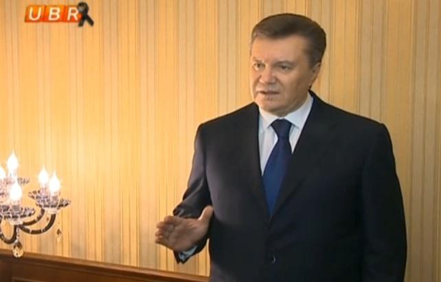 Tình hình Ukraine Yanuko10
