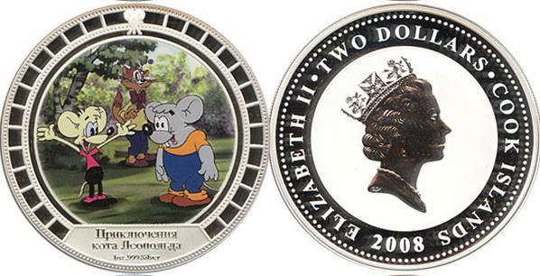 Серия монет, посвященная котам 0c0f2e10