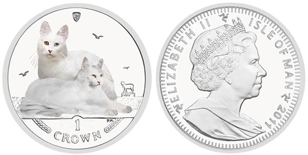 Серия монет, посвященная котам Catang10