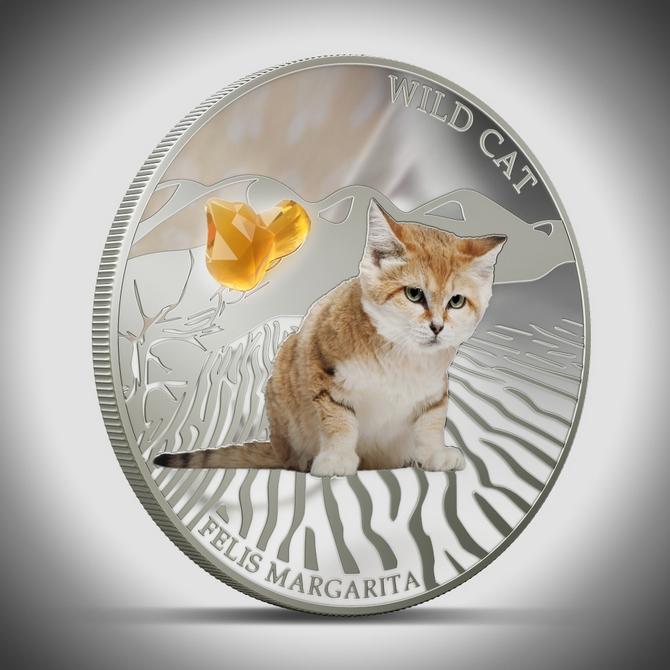 Серия монет, посвященная котам Felism10