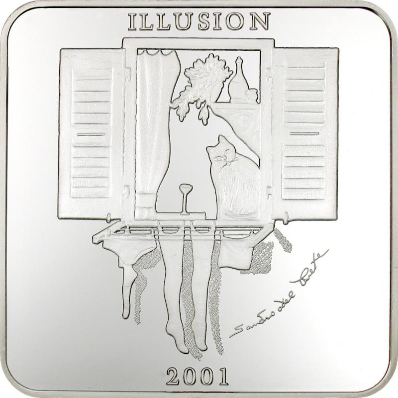 Серия монет, посвященная котам Illusi10