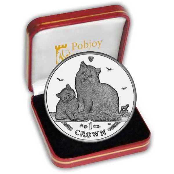 Серия монет, посвященная котам Siberi10