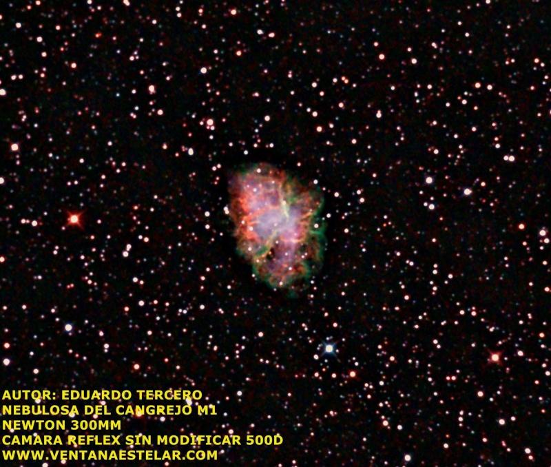 Fotografia M1 Nebulosa del cangrejo Autosa12