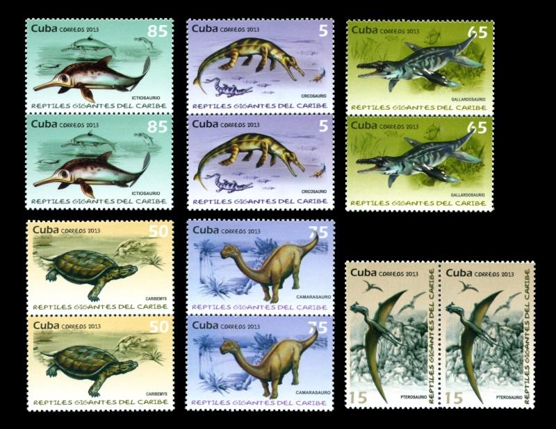 Paleophilatelie: Paläontologie und Philatelie  - Seite 2 Cuba_210