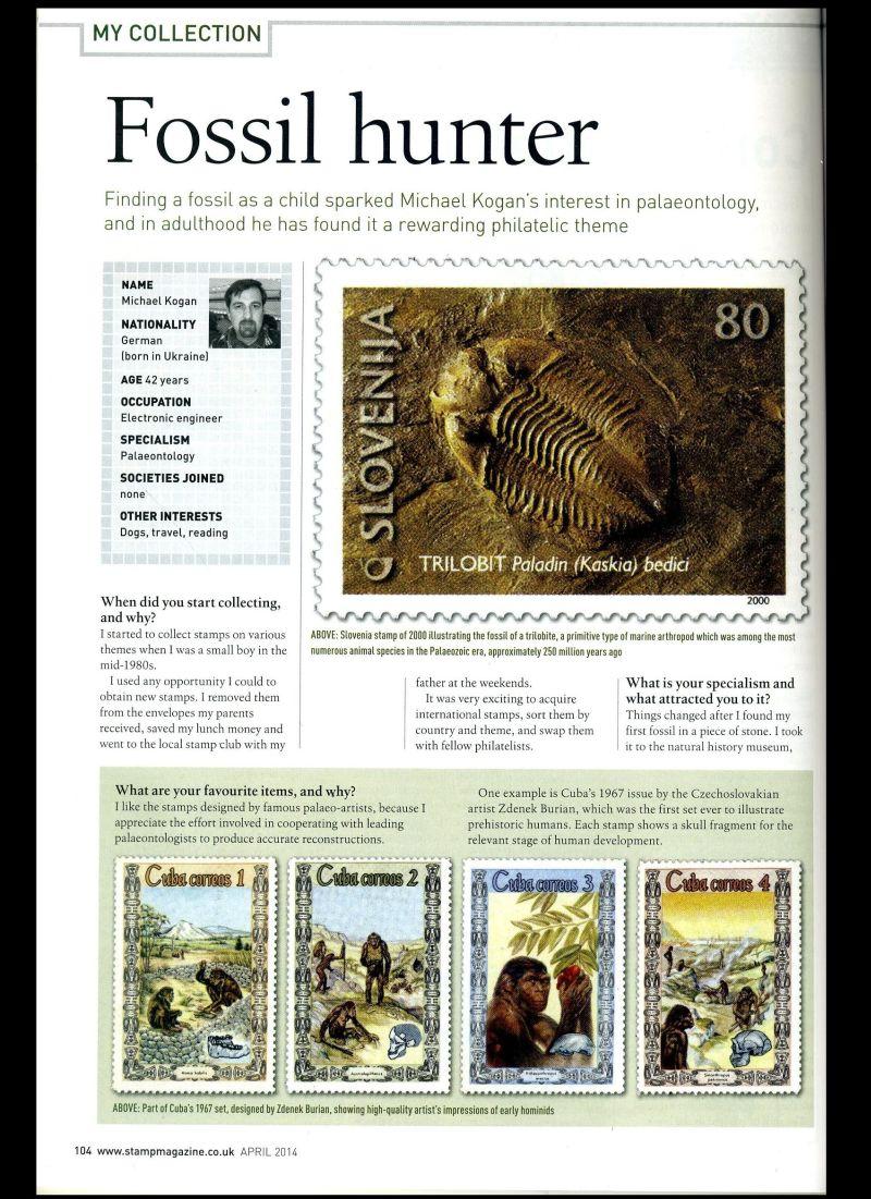 Paleophilatelie: Paläontologie und Philatelie  - Seite 2 Stamp_14