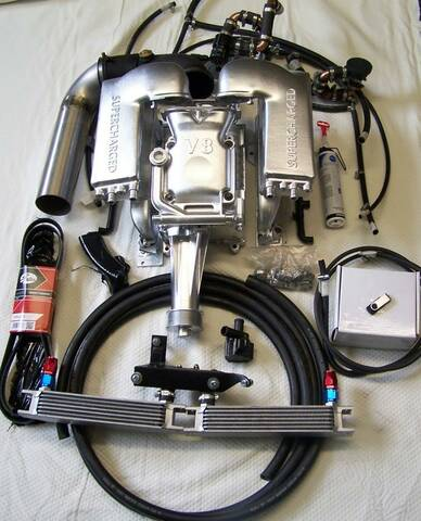 Eaton Supercharger M112