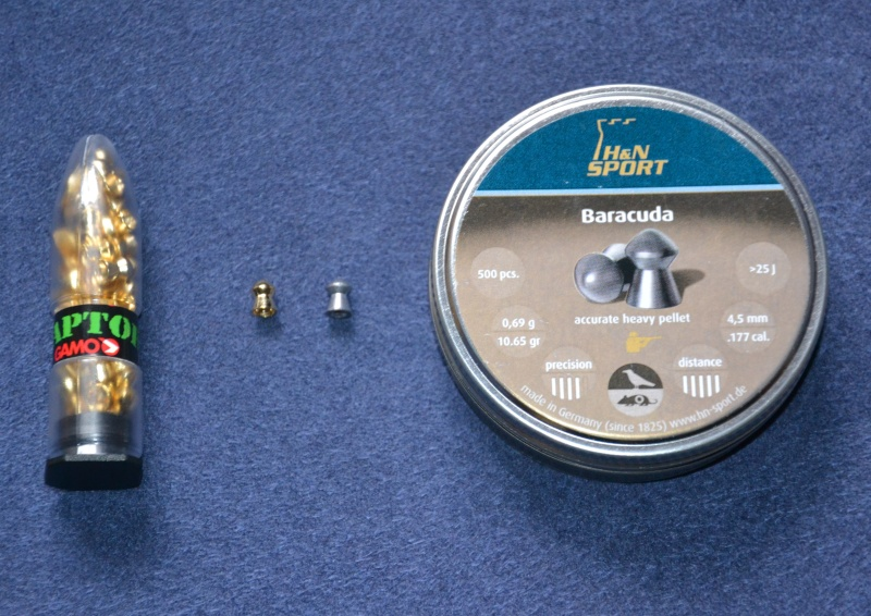 H&N Baracuda vs Gamo Raptor Dsc_1310
