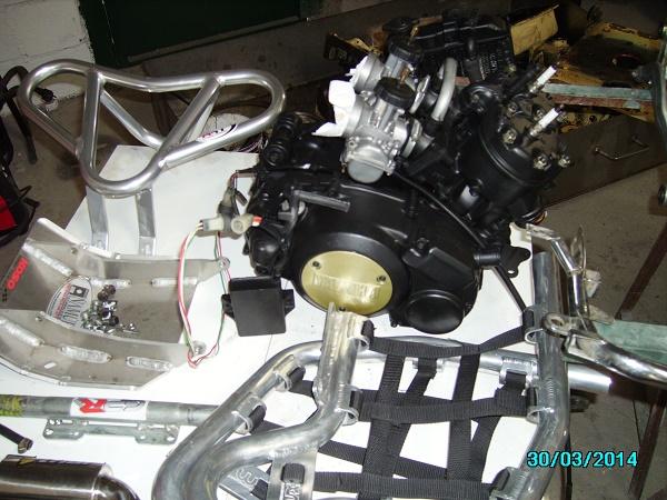 restauration du banshee 87 (the diable machine ) tof resto Imgp0510